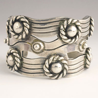 Spratling Silver River of Life Cuff
