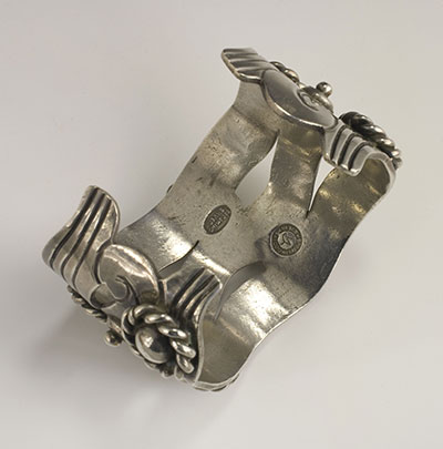 Spratling River of Life silver cuff