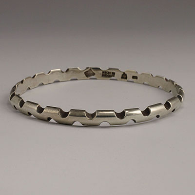 Antonio Pineda Sterling Silver Bangle